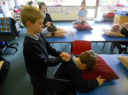 Massage in Schools Programme